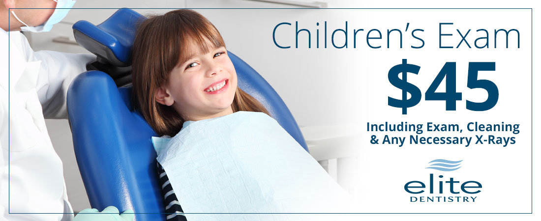Children's Exam - $45 - Sioux City, Elite Dentistry